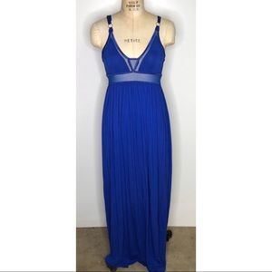 L'atiste by Amy blue maxi dress
